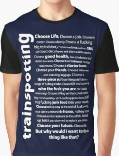 Trainspotting Quotes Graphic T-Shirt