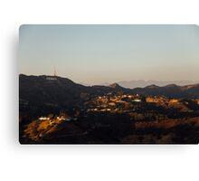Hollywood at Sunset Canvas Print
