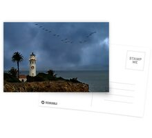 Storm brewing off Point Vicente Postcards