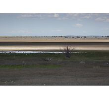Lake Cooper, Victoria, in drought. Photographic Print