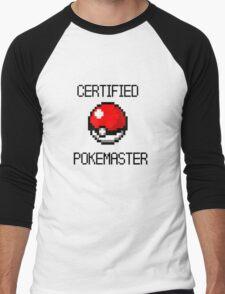 PokeMaster Men's Baseball ¾ T-Shirt
