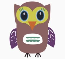 Coloured Owl  by ilovecotton