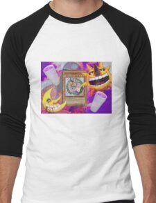 Based Magician Girl Men's Baseball ¾ T-Shirt