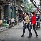 Vietnam: Striding Out by Kasia-D