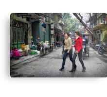 Vietnam: Striding Out Metal Print