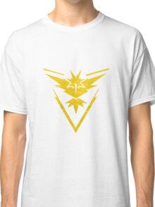 Pokemon Team Instinct Cloud Yellow Classic T-Shirt
