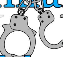 Hillary lock her up Sticker