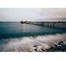 Colored Malibu Photographic Print