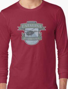 Vintage Catalina WIne Mixer - POW! Long Sleeve T-Shirt