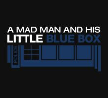 a Mad Man and his Little Blue Box by danielasynner