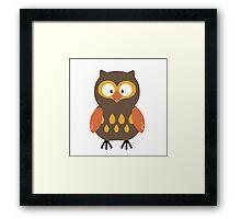 Cute Owl  Framed Print