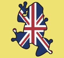 British Union Jack Frog Kids Tee