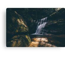 Hidden Falls - Hocking Hills  Canvas Print