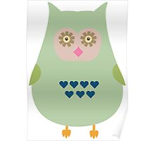 Fat Owl  Poster