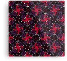 Dark Refined Luxury Pattern Metal Print