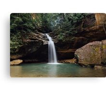 Lower Falls - Hocking Hills Canvas Print