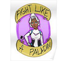 Fight Like A Paladin: Allura Poster