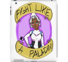 Fight Like A Paladin: Allura iPad Case/Skin