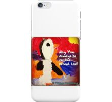 Who's on the Good List? iPhone Case/Skin