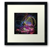 Finding New Dimensions Framed Print