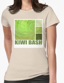 Kiwi Bash Womens Fitted T-Shirt