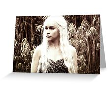 Khaleesi of the Great Grass Sea Greeting Card
