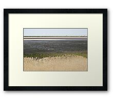 Lake Cooper, Goulburn Valley, Victoria, in drought Framed Print