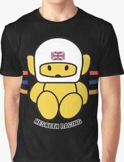 HESKETH F1 TEAM MASCOT Graphic T-Shirt