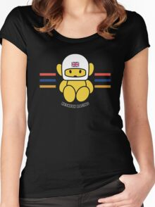 HESKETH F1 TEAM MASCOT Women's Fitted Scoop T-Shirt