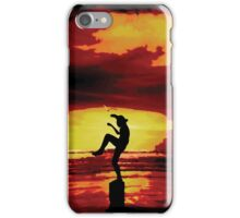 The Crane Kick Karate Kid iPhone Case/Skin