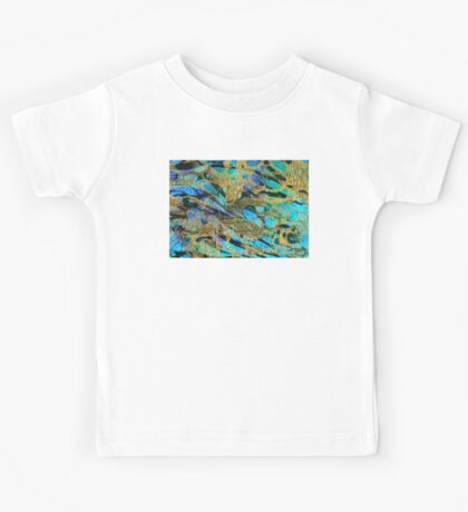 Abstract Art - Deeper Visions - Sharon Cummings Kids Tee