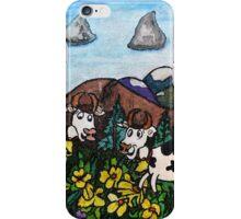 Running Cows iPhone Case/Skin
