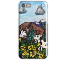 Running Cows iPhone Case/Skin