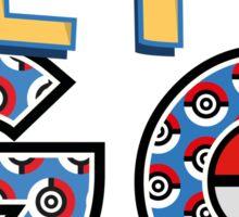 Pokemon lets GO T-shirt Sticker