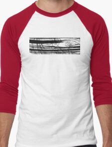 Black And White Art - Layers - Sharon Cummings Men's Baseball ¾ T-Shirt