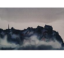 Edinburgh Castle Darkness 4 Photographic Print