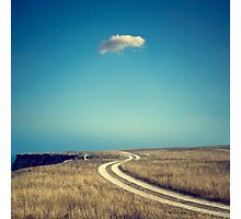A lonely cloud Photographic Print