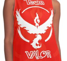 Team Valor - Team Red Contrast Tank