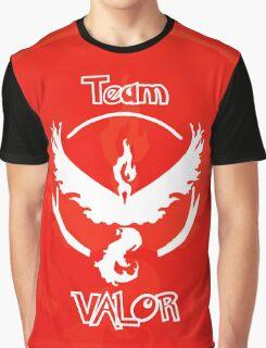 Team Valor - Team Red Graphic T-Shirt