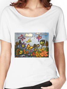 The Birds, The Bees and Butterflies Women's Relaxed Fit T-Shirt