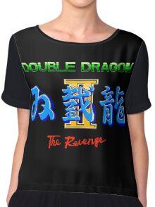DOUBLE DRAGON II - NES CLASSIC Chiffon Top