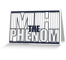 MH The Phenom - Pinstripe Greeting Card