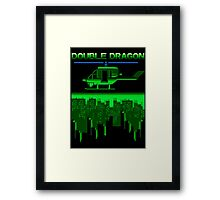 DOUBLE DRAGON II - LEVEL 2 Framed Print