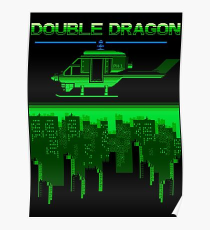 DOUBLE DRAGON II - LEVEL 2 Poster