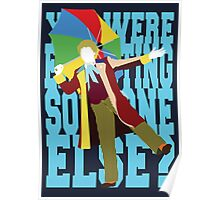 Quotable Who - Sixth Doctor Poster