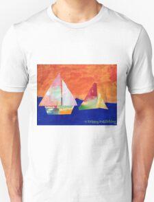 Sail Away - by Nadia Unisex T-Shirt