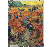 Red Vineyards by Vincent Van Gogh iPad Case/Skin