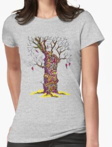 Autumn depression Womens Fitted T-Shirt