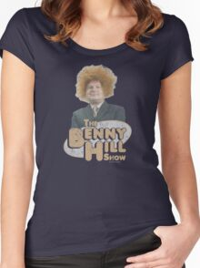 Benny Hill Women's Fitted Scoop T-Shirt