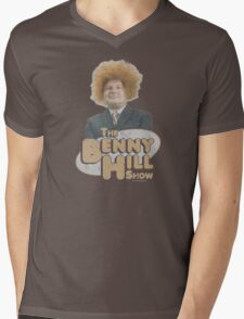 Benny Hill Mens V-Neck T-Shirt
